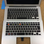 MacBook Air 日本語キーボードを英語キーボードに交換しました