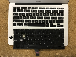 Mac USキーボード交換