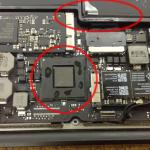 ロジックボード修理 macbook air A1465