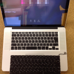 macbookpro修理 キーボード交換 水没