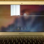 MacbookAirの画面割れ、液晶割れの修理