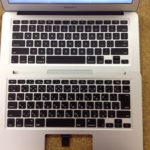 MacBook Air キーボード交換 日本語から英語