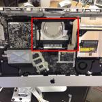 iMac 起動しない HDD交換