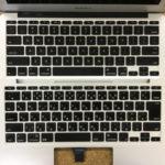 macbook air 11インチ キーボード交換修理