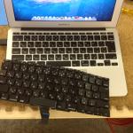 macbook air 部品持ち込み キーボード交換