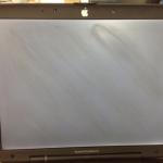 PowerBook G3 液晶パネル交換修理
