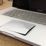 MacbookPro バッテリー交換 膨張 クリックできない