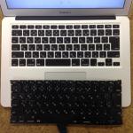 macbookair キーボード交換 13インチ