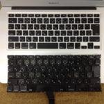 MacbookAirのキーボード交換が格安!
