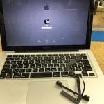 MacbookPro ハードディスク交換 ケーブル交換、初期化など