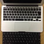 MacbookAirのキーボードが効かない、勝手に押される場合の格安修理