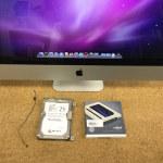 iMac SSD交換