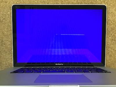 mac 青い画面