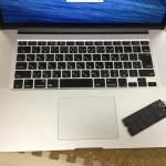 Mac SSD交換