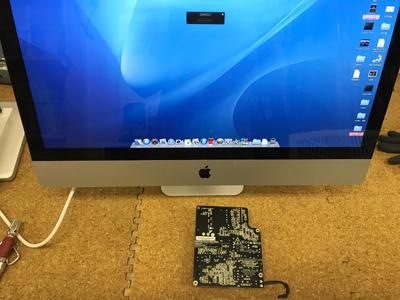 iMac 電源が入らない