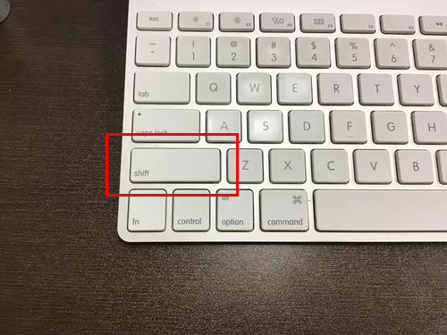 Mac セーフブート
