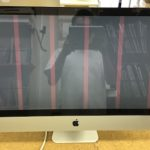 Mac 液晶画面にピンクの線が入った! グラフィック故障?