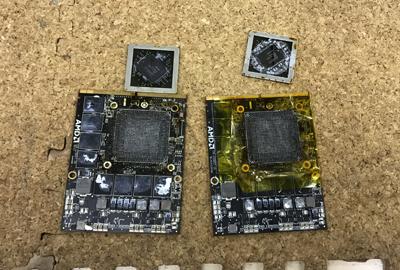 Mac グラフィックカード修理