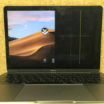 MacBook 12 画面の半分が見えない修理
