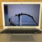 柏市からMacBook Airの修理 1時間で修理完了しました!