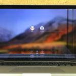 MacBook Pro 画面に線