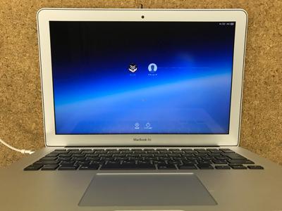 MacBook Air 画面交換