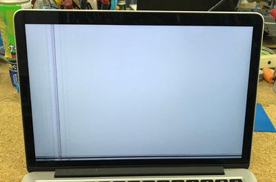 MacBook Pro 画面真っ白