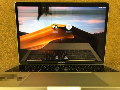 MacBook Pro 2016 画面割れ