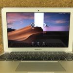 津田沼からMacBookAirの修理 画面割れ