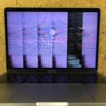 MacBook Pro A1706 画面のちらつき、表示不良の修理