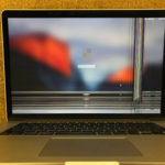 液晶画面割れをしたMacBook Proの買取実績