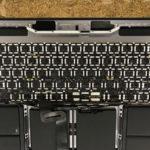 MacBook Pro  15 A1707 水没 キーボード交換 タッチバー付き