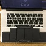 macbook pro 15バッテリー交換