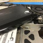 MacBook Pro 2010 バッテリー膨張