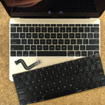 佐倉市からMacBook 12のキーボード修理
